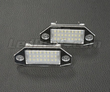 Pack de 2 modules led plaque immatriculation arrière FORD (type 3)