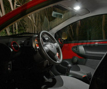 Pack intérieur luxe full leds (blanc pur) pour Toyota Aygo