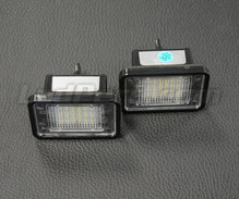 Pack de 2 modules led plaque immatriculation arrière Mercedes (type 6)