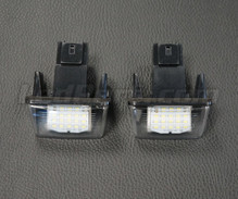 Pack de 2 modules led plaque immatriculation arrière PEUGEOT / CITROEN (type 1)
