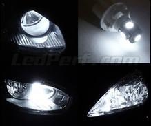 PEUGEOT Expert Tepee blanc 4-led XENON GLACE côté faisceau lumineux ampoules paire mise à niveau