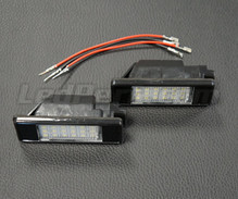 Pack de 2 modules led plaque immatriculation arrière PEUGEOT / CITROEN (type 2)