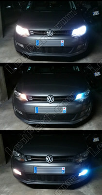 Led VOLKSWAGEN POLO 6R / 6C1 2010 Confortline Tuning